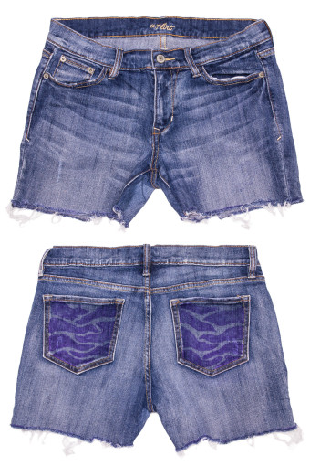Cut Off Denim Shorts 31