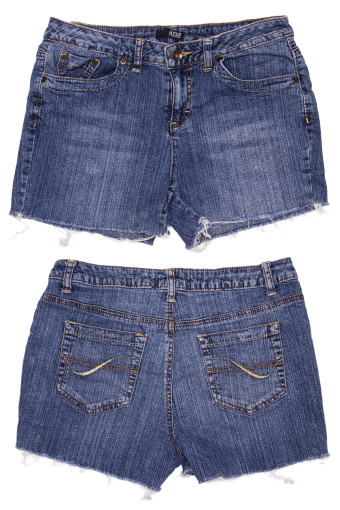 Cut Off Denim Shorts 36