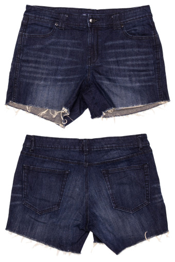 Cut Off Denim Shorts 42