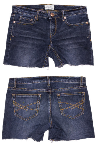 Cut Off Denim Shorts 44