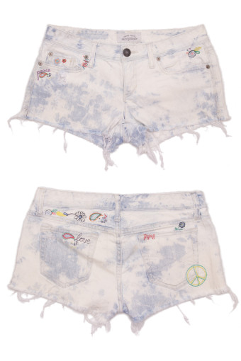 Cut Off Denim Shorts 48