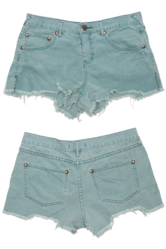 Cut Off Denim Shorts 53