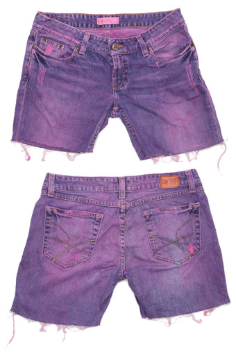 Cut Off Denim Shorts 61