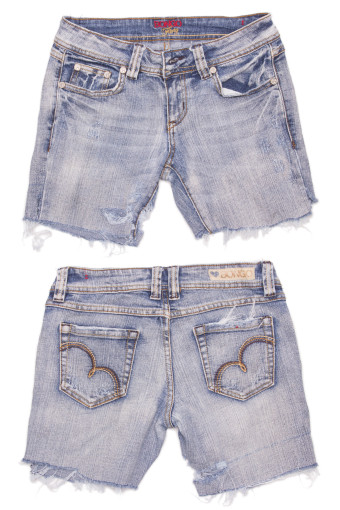 Cut Off Denim Shorts 63