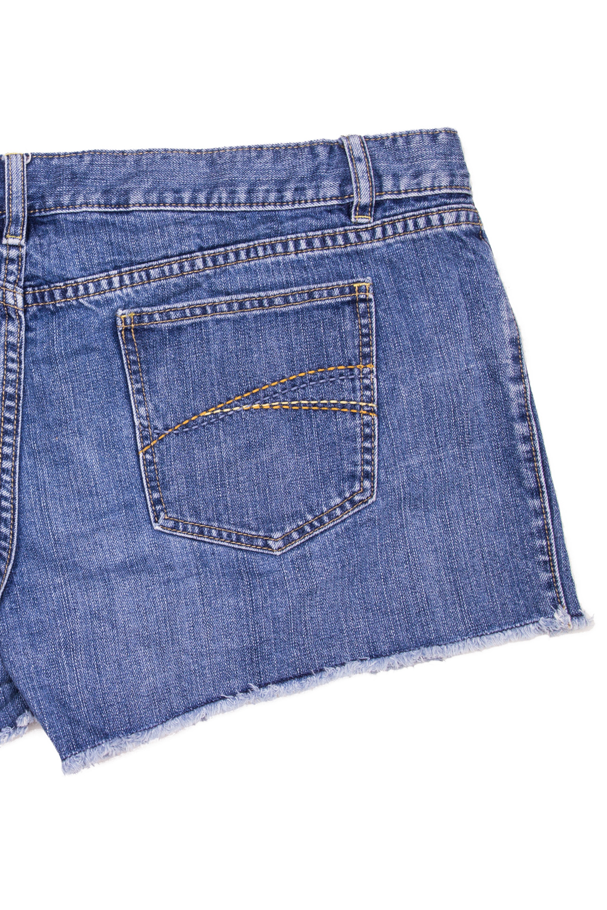 Cut Off Denim Shorts 45