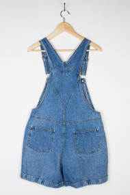 vintage denim shortalls back 27 190x285 Vintage WWII Era Military Jacket