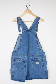 vintage denim shortalls back 50 190x285 Vintage WWII Era Military Jacket