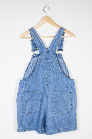 vintage denim shortalls back 63 190x285 Vintage WWII Era Military Jacket