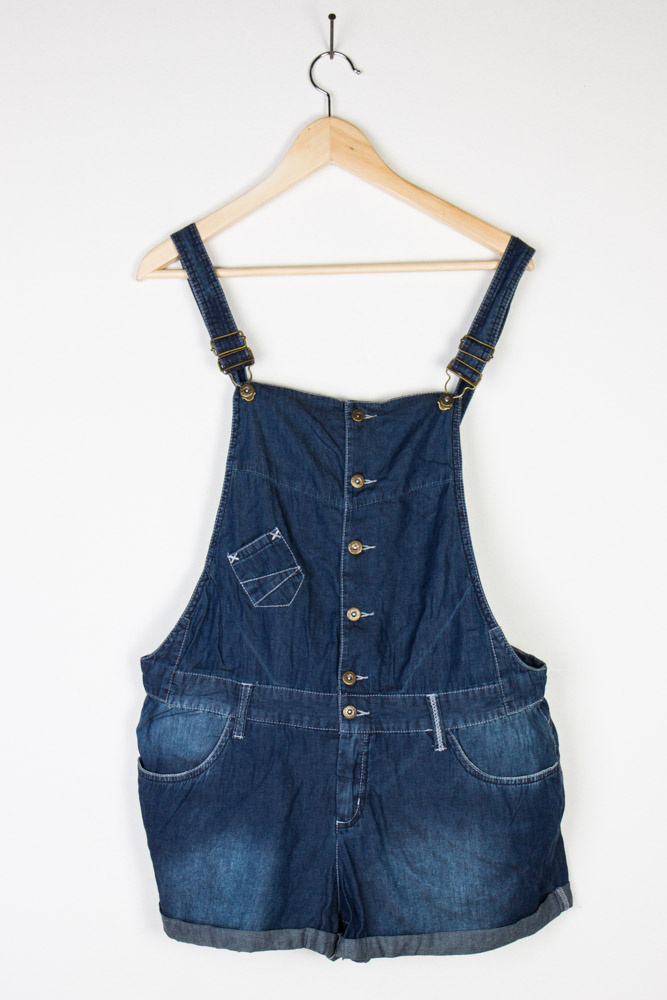 Vintage Denim Shortalls 23