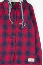 New England Patriots Hooded Flannel 3138