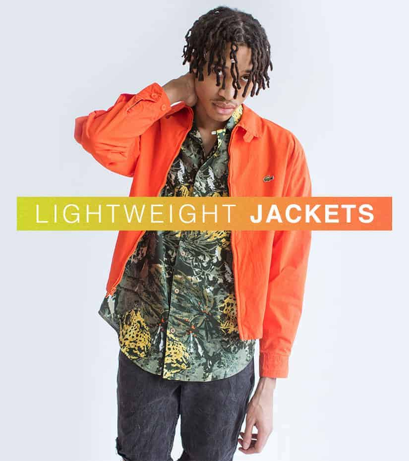SHOP VINTAGE LIGHTWEIGHT JACKETS