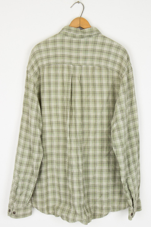 Eddie Bauer Green Plaid
