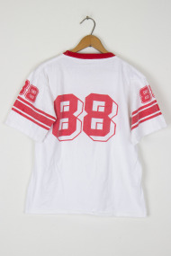 White and Red 88 T-shirt