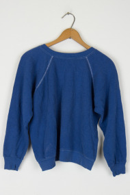 Blue Cropped Sweatshirt