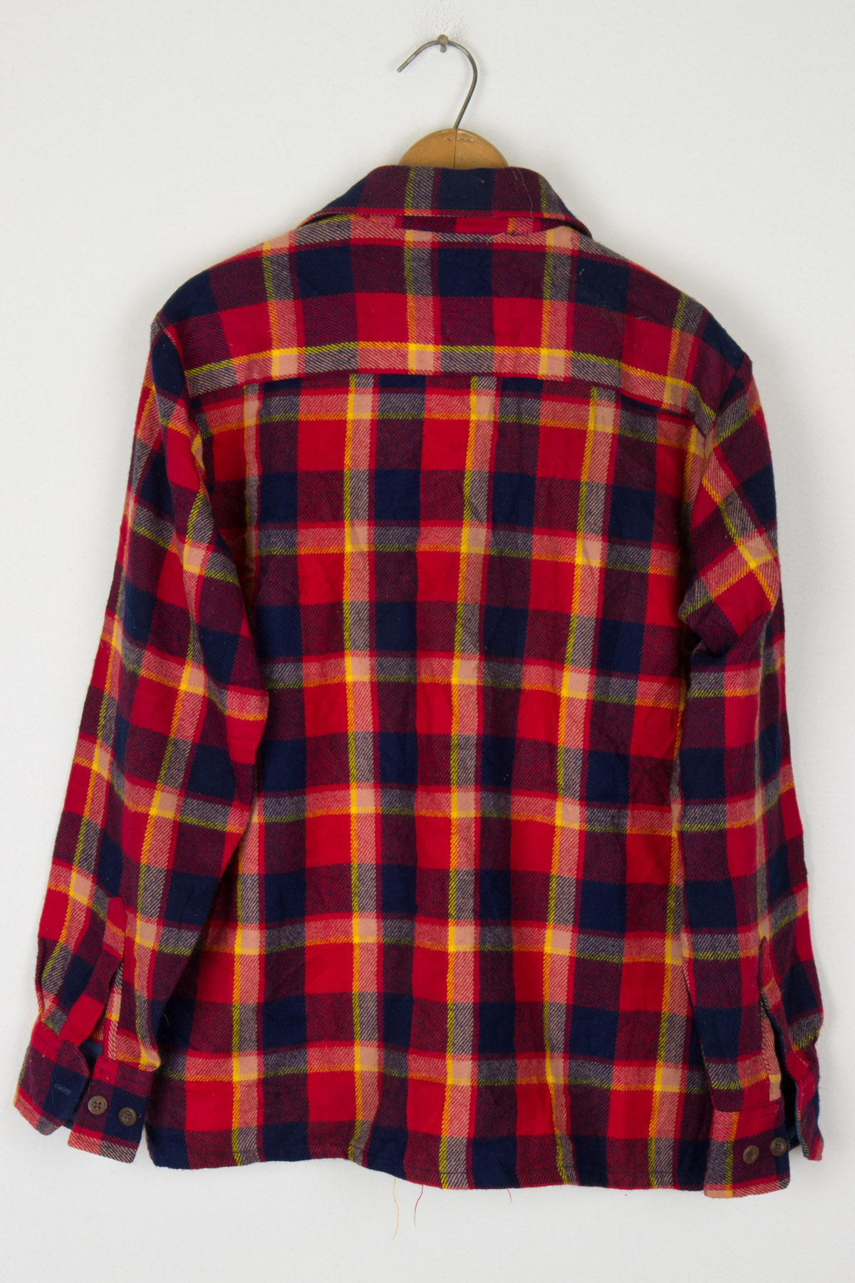 Alvin Josef Plaid Flannel Button Up