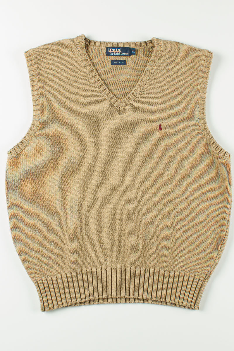 Polo Knit Sweater Vest - Ragstock