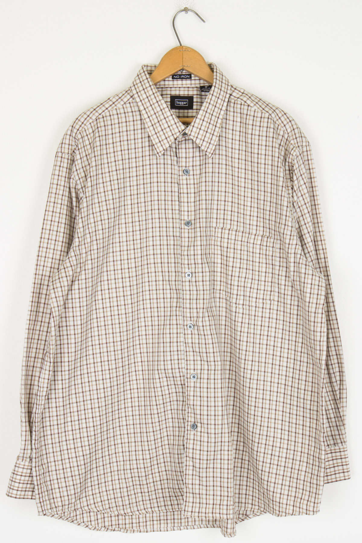 Haggar Bron Plaid