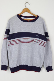 Striped Wilson Sweatshirt