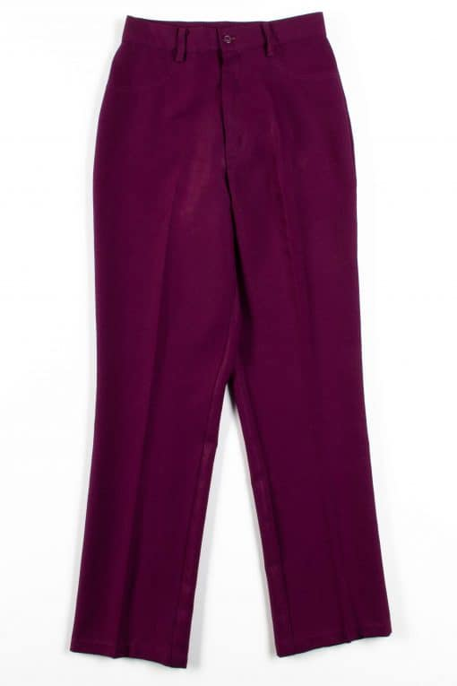 Burgundy Vintage Pants (sz. 7/8)