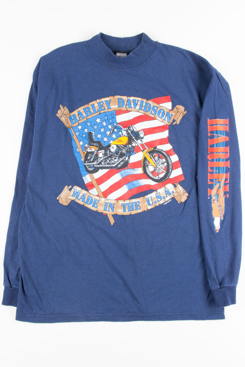4857fe40a Made In The USA Harley-Davidson Long Sleeve T-Shirt - Ragstock
