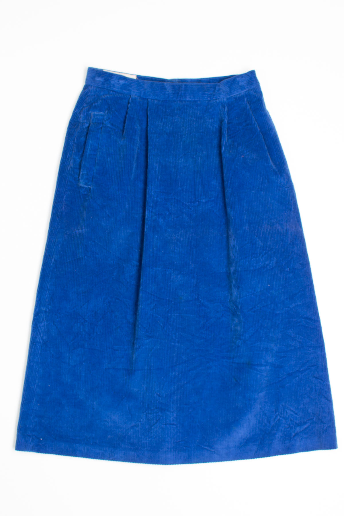 e2c10134f ... Vintage Skirts / Royal Blue Corduroy Skirt. 1