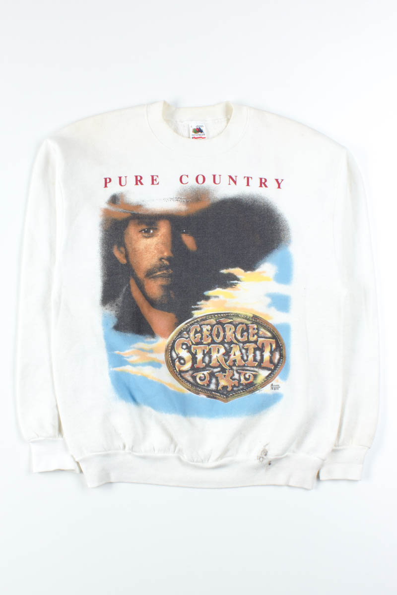 1ca221d8a3e6ee George Strait Pure Country Sweatshirt - Ragstock