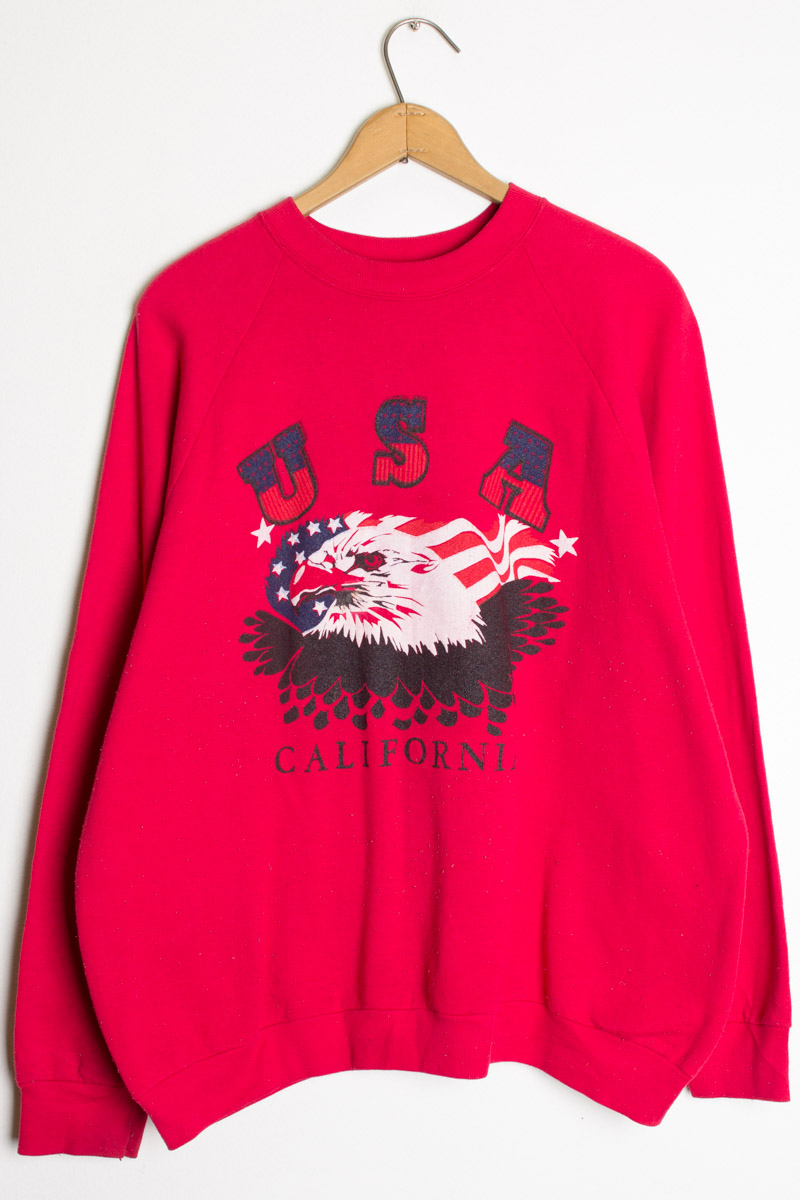 California Eagle Vintage Sweatshirt