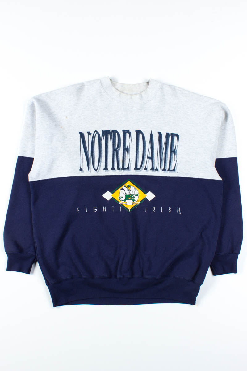 Notre Dame Fighting Irish Sweatshirt - Ragstock